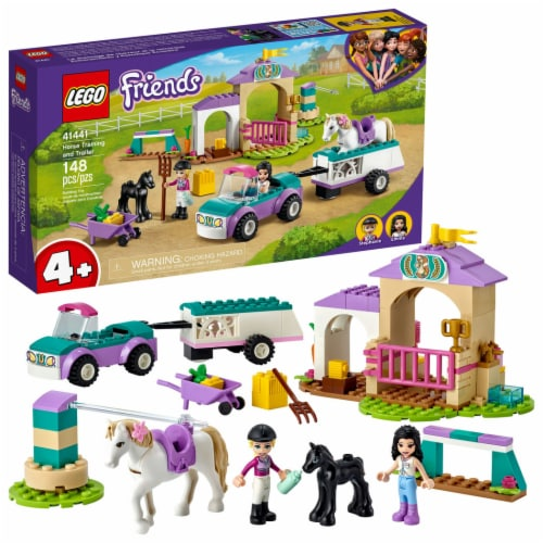 41441 LEGO® Friends Horse Training and Trailer Perspective: front