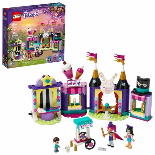 LEGO® Friends Magical Funfair Stalls Perspective: front