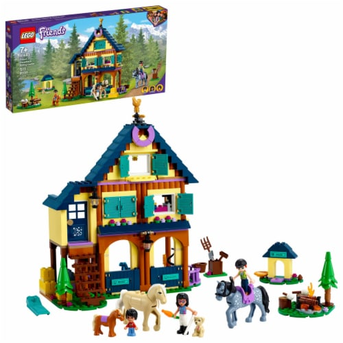 LEGO® Friends Forest Horseback Riding Center Perspective: front
