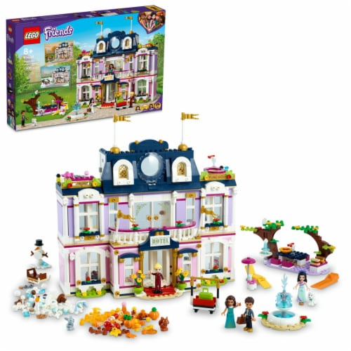 LEGO® Friends Heartlake City Grand Hotel Perspective: front