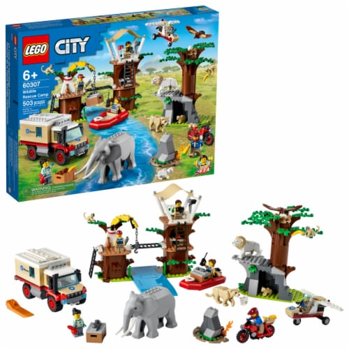 LEGO® City Wildlife Rescue Camp Perspective: front