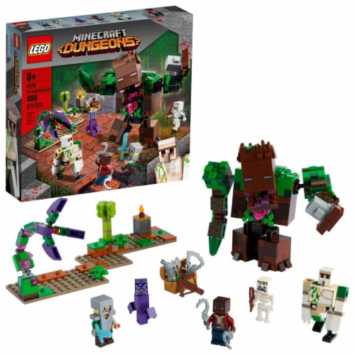 LEGO® Minecraft Dungeons The Jungle Abomination Perspective: front