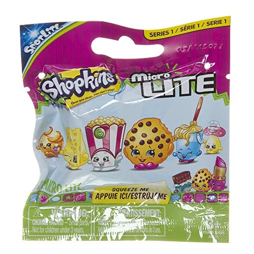 Moose Shopkins Micro Lites Series 1 Mystery Pack Perspective: front