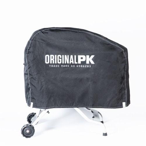 PK Grills Black Grill Cover For PK Original Grill and Smoker 37 in. W x 31 in. H - Case Of: 1 Perspective: front