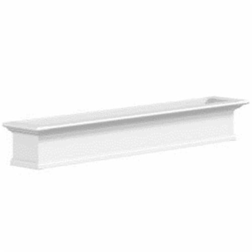 Mayne 4826W Yorkshire 6 Foot Window Box - White Perspective: front