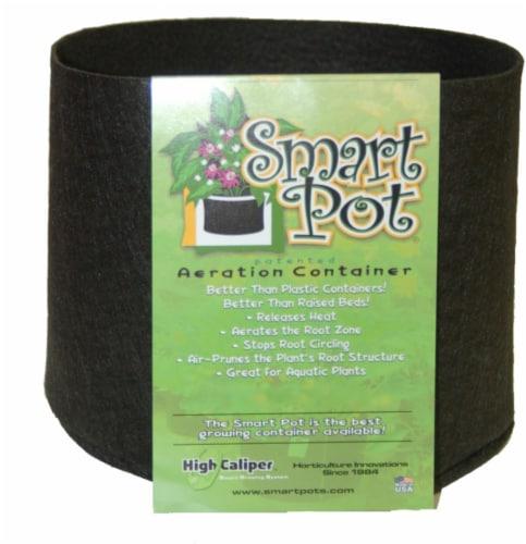 High Caliper Smart Pot Display - Black Perspective: front