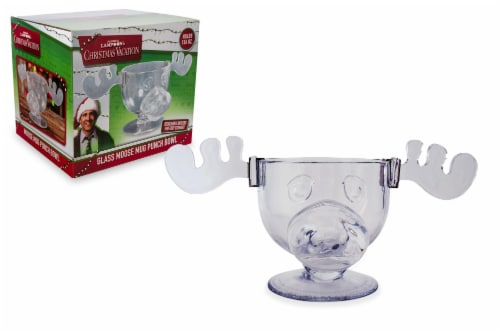 National Lampoon's Christmas Vacation Griswold Moose Punch Bowl | 136 Ounces Perspective: front