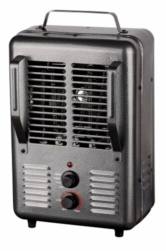 ProFusion Heat Milkhouse Utility Heater with Adjustable Thermostat - Gunmetal Perspective: front