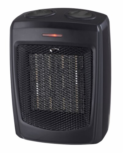 ProFusion Heat Ceramic Heater - Black Perspective: front