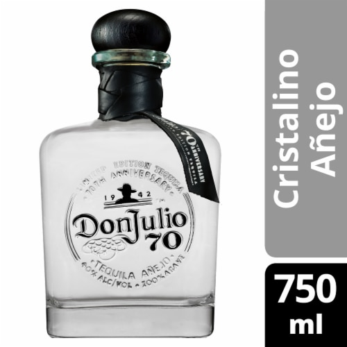 Don Julio 70 Cristalino Tequila Perspective: front
