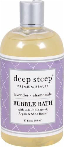 Deep Steep  Bubble Bath Lavender Chamomile Perspective: front