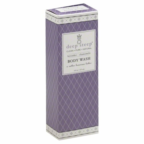 Deep Steep Lavender Chamomile Body Wash Perspective: front