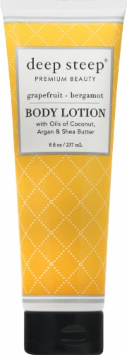 Deep Steep Grapefruit Bergamot Body Lotion Perspective: front