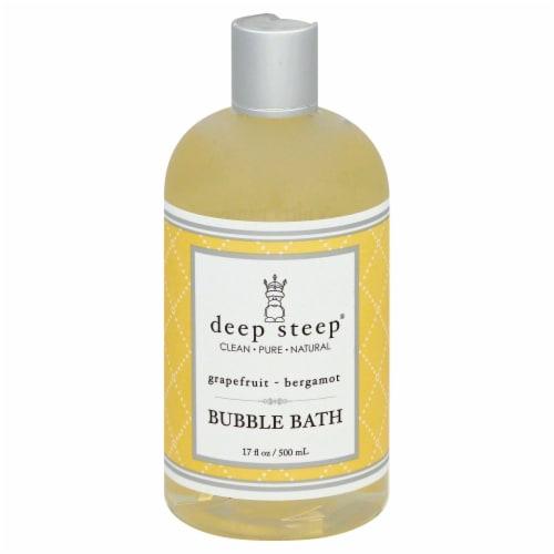 Deep Steep Grapefruit Bubble Bath Perspective: front