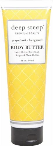 Deep Steep Grapefruit Bergamot Body Butter Perspective: front