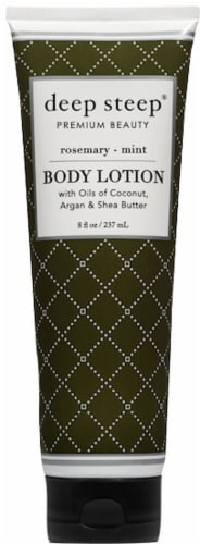 Deep Steep Rosemary Mint Soy Body Lotion Perspective: front