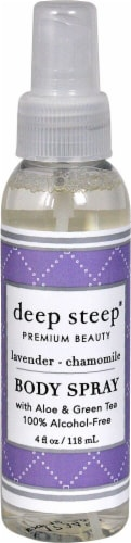 Deep Steep Lavender Chamomile Body Spray Perspective: front
