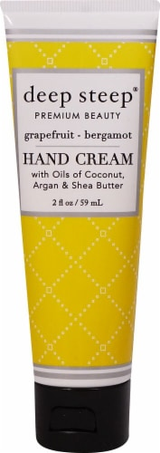 Deep Steep Grapefruit Bergamot Hand Cream Perspective: front