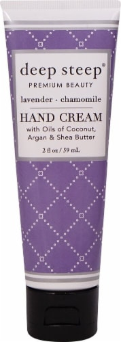 Deep Steep Lavender Chamomile Hand Cream Perspective: front