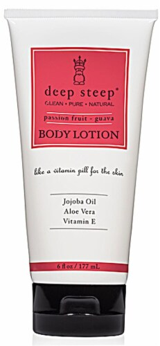 Deep Steep Passion Fruit Guava Body Lotion Perspective: front