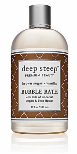 Deep Steep  Bubble Bath Brown Sugar Vanilla Perspective: front