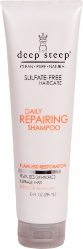 Deep Steep  Daily Repairing Shampoo For Color Treated Hair Perspective: front