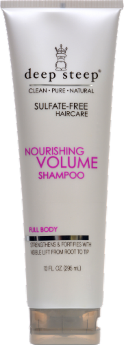 Deep Steep Nourishing Volume Shampoo Perspective: front