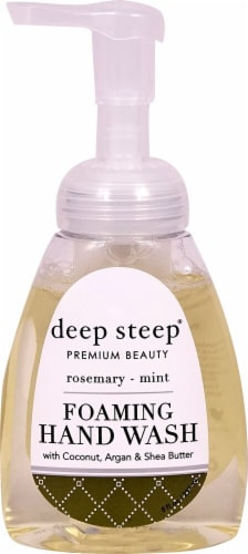 Deep Steep Foaming Hand Wash Rosemary Mint Perspective: front