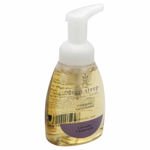 Deep Steep Lavender Chamomile Foaming Handwash Perspective: front