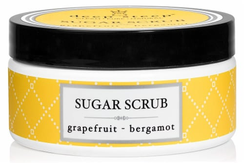 Deep Steep  Sugar Scrub Grapefruit Bergamot Perspective: front