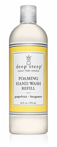 Deep Steep Foaming Hand Wash Refill Grapefruit Bergamot Perspective: front