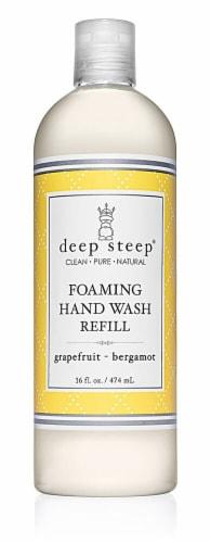 Deep Steep Foaming Hand Wash Refill Grapefruit Bergamot Perspective: front