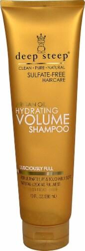 Deep Steep  Argan Oil Hydrating Volume Shampoo Perspective: front