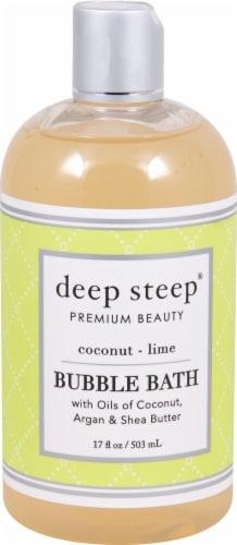Deep Steep  Bubble Bath Coconut - Lime Perspective: front