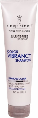 Deep Steep  Color Vibrancy Shampoo For Color Treated Hair Perspective: front
