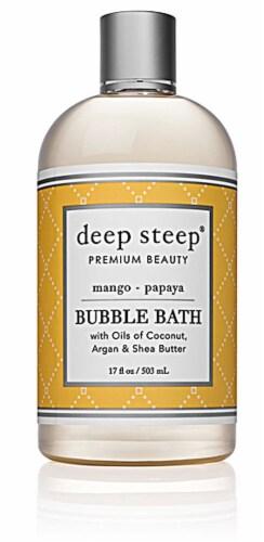 Deep Steep Mango & Papya Bubble Bath Perspective: front