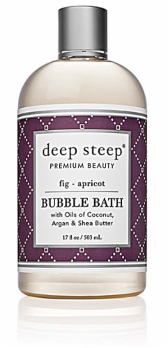 Deep Steep Fig & Apricot Bubble Bath Perspective: front