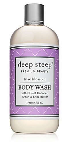 Deep Steep Lilac Blossom Body Wash Perspective: front
