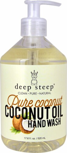 Deep Steep Pure Coconut Argan Oil Hand Wash Perspective: front