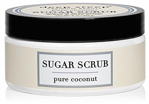 Deep Steep  Sugar Scrub Pure Coconut Perspective: front