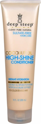 Deep Steep  Coconut Oil High-Shine Conditioner Perspective: front