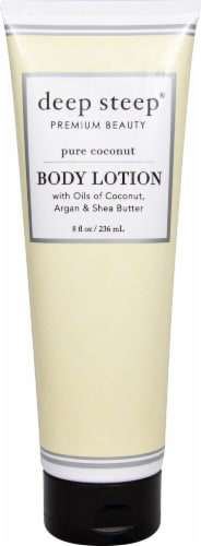 Deep Steep Coconut Oil Body Lotion Perspective: front