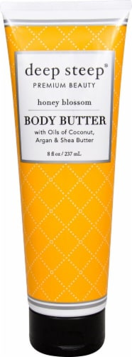 Deep Steep Honey Blossom Premium Beauty Body Butter Perspective: front