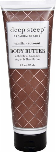 Deep Steep Vanilla Coconut Body Butter Perspective: front