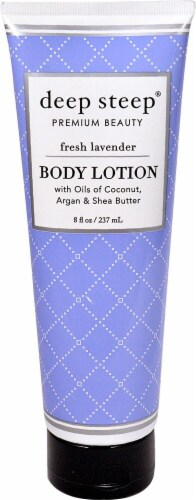 Deep Steep Fresh Lavender Body Lotion Perspective: front