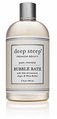 Deep Steep  Bubble Bath Pure Coconut Perspective: front
