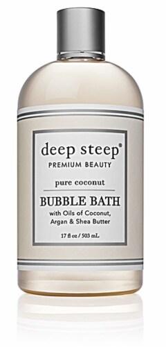 Deep Steep  Bubble Bath Pure Coconut Perspective: front
