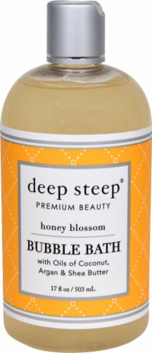 Deep Steep  Bubble Bath Honey Blossom Perspective: front