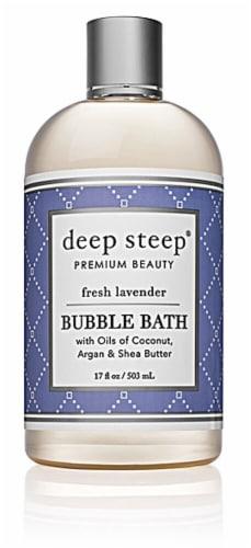 Deep Steep Fresh Lavender Bubble Bath Perspective: front