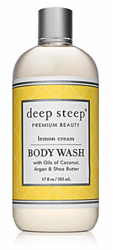 Deep Steep Lemon Cream Body Wash Perspective: front